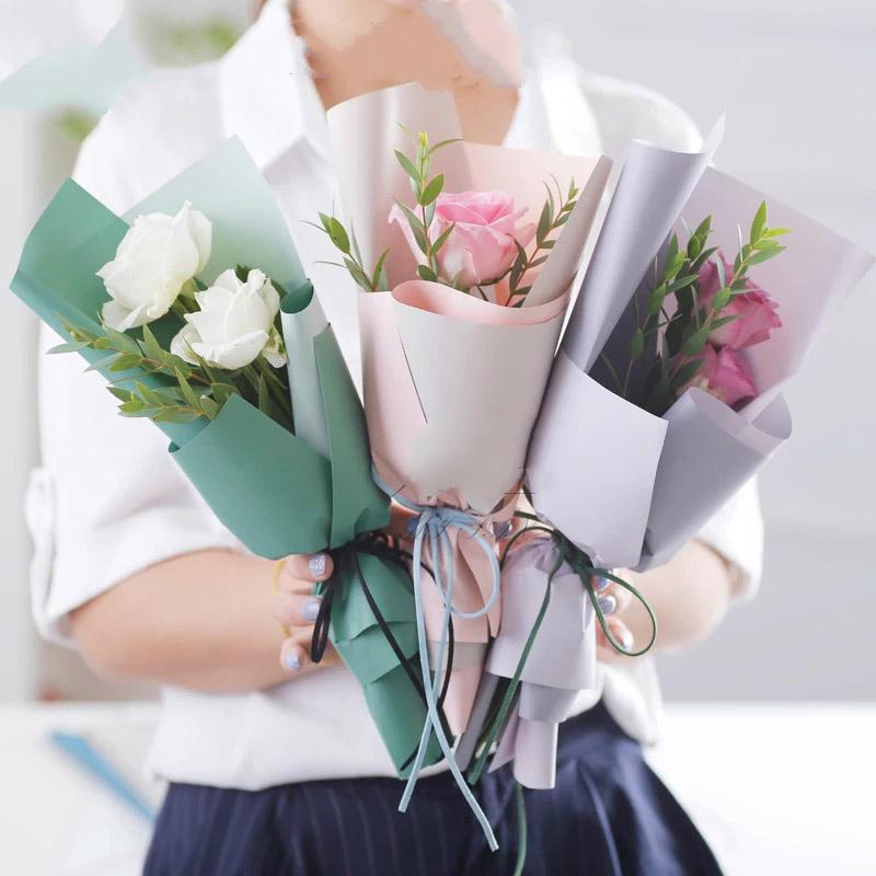 Bó hoa hồng mang thông điệp yêu thương