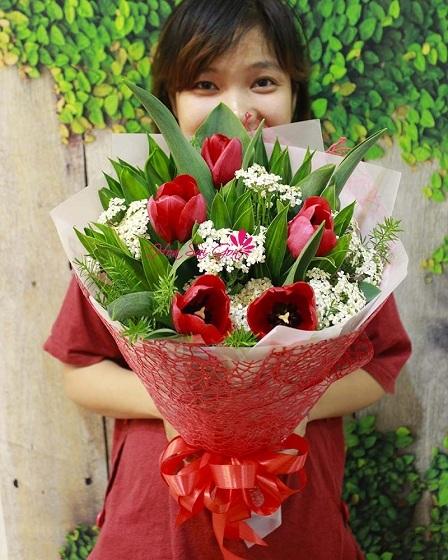 Hoa tulip mang thông điệp cho tình yêu đẹp đẽ